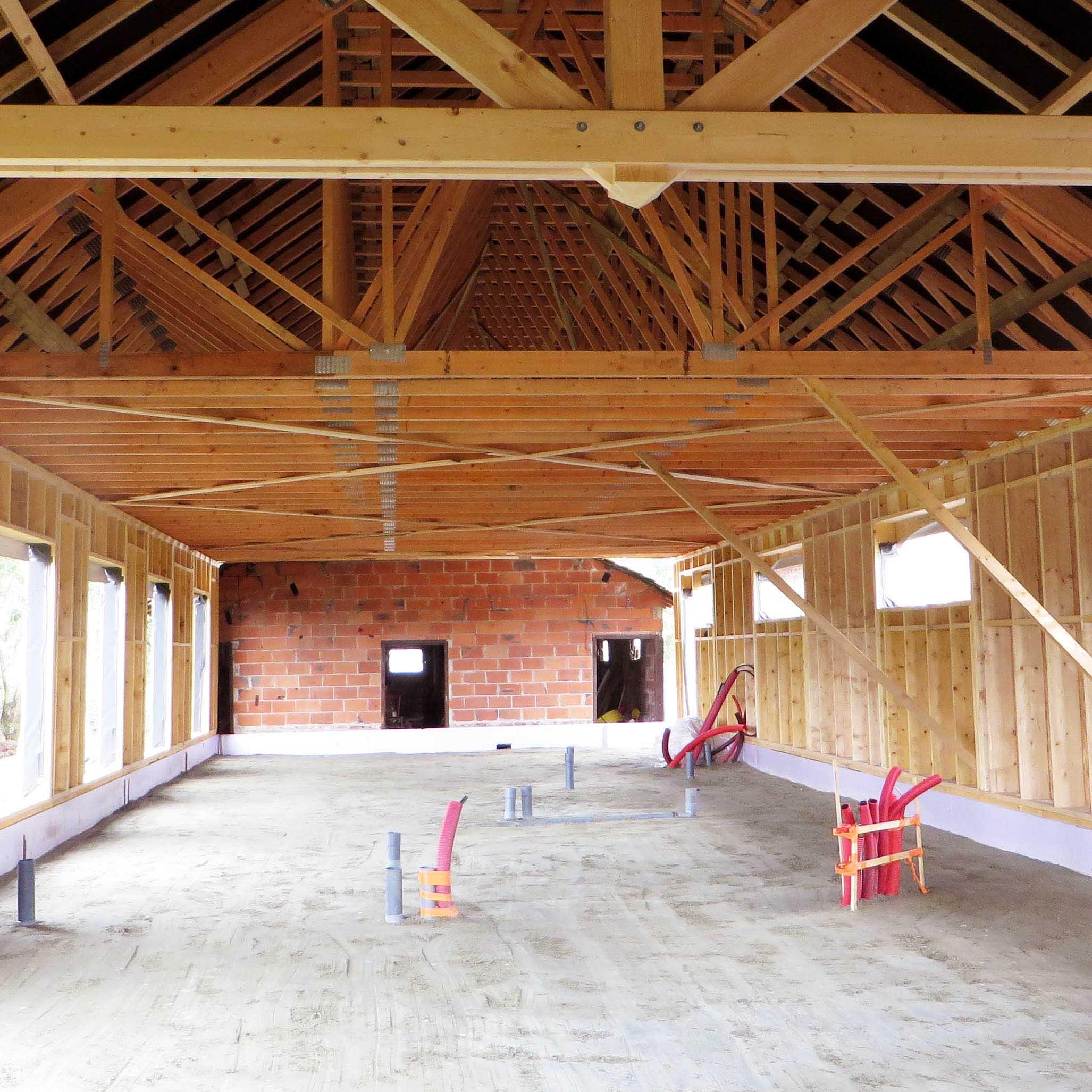 Charpente Industrielle Bailleul Renovation Maison particuliere - Charpentier des Flandres