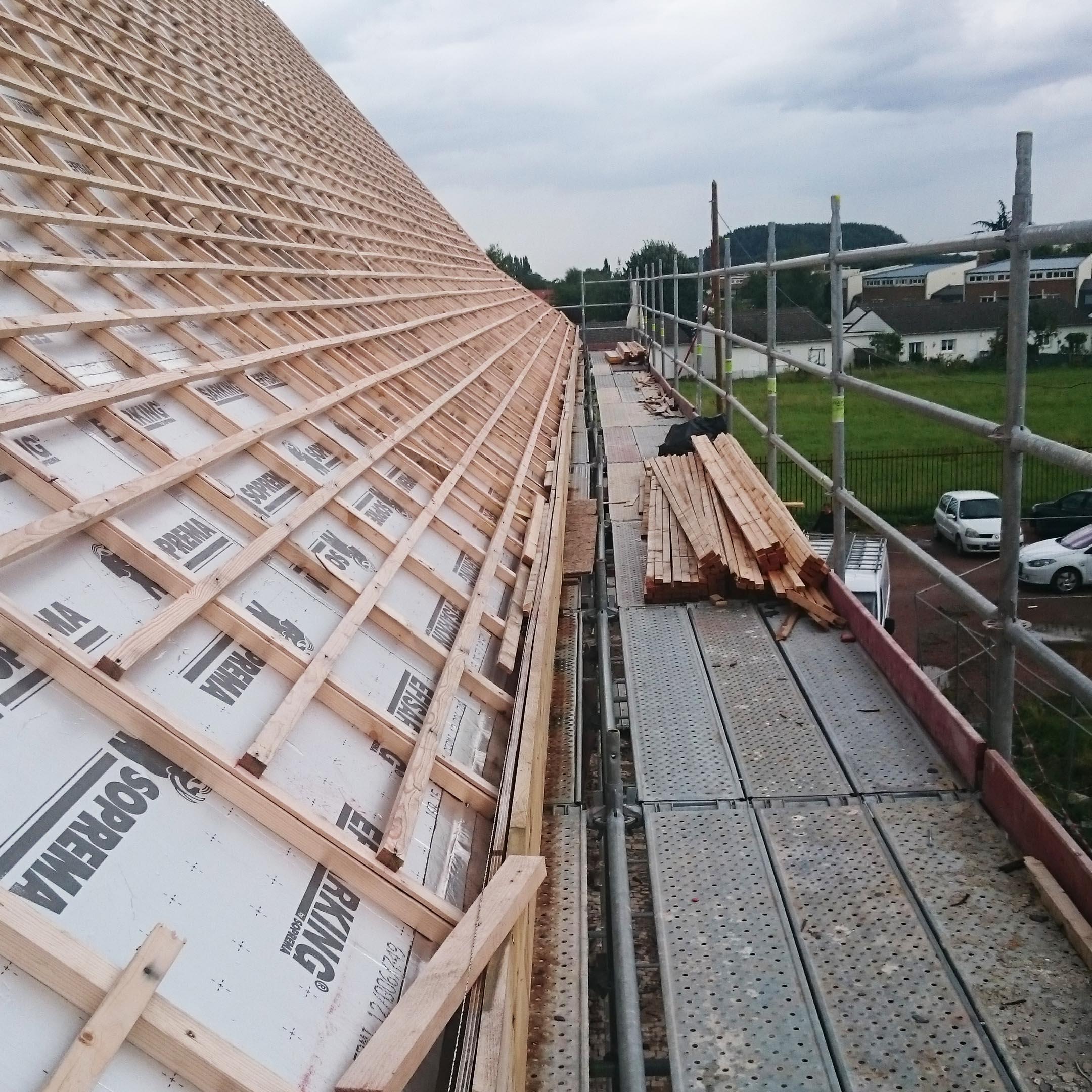 Ouvrages Spéciaux Rénovation Charpente bois Roost Warendin - Charpentier des Flandres