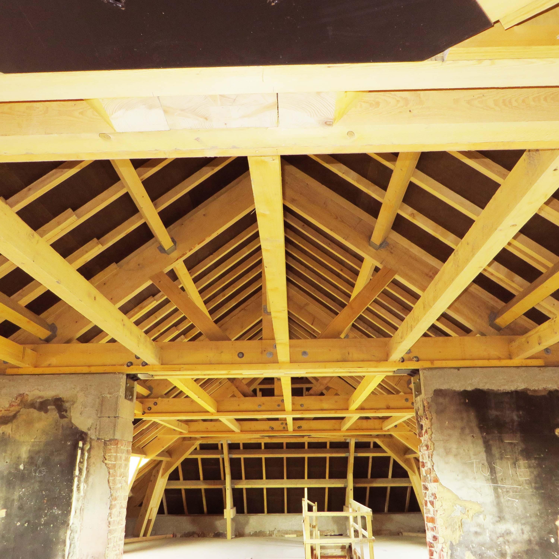 Charpente bois traditionnelle Bethune SCI du Moulin à Tabac - Charpentier des Flandres