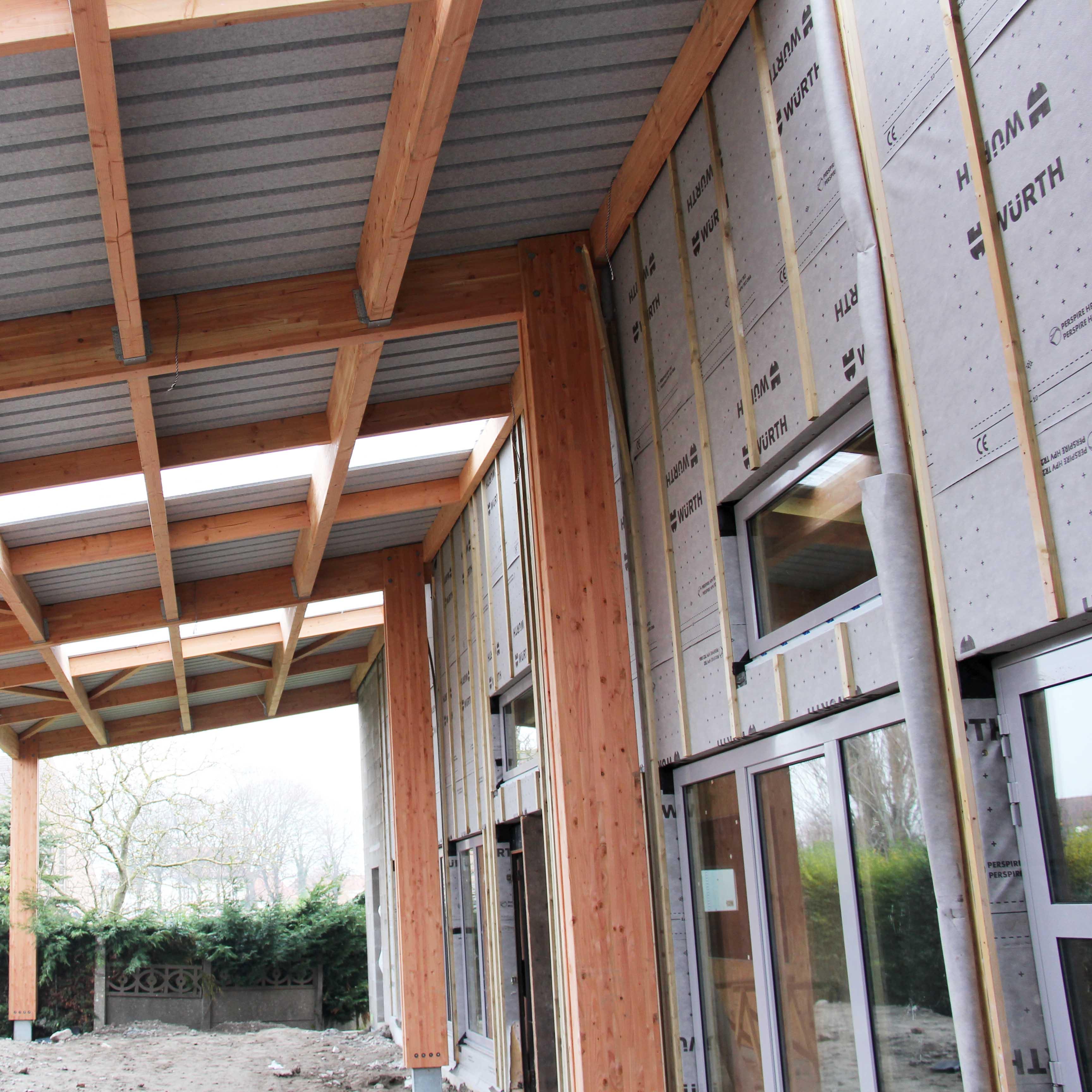 Ossature bois Spycker - Charpentier des Flandres