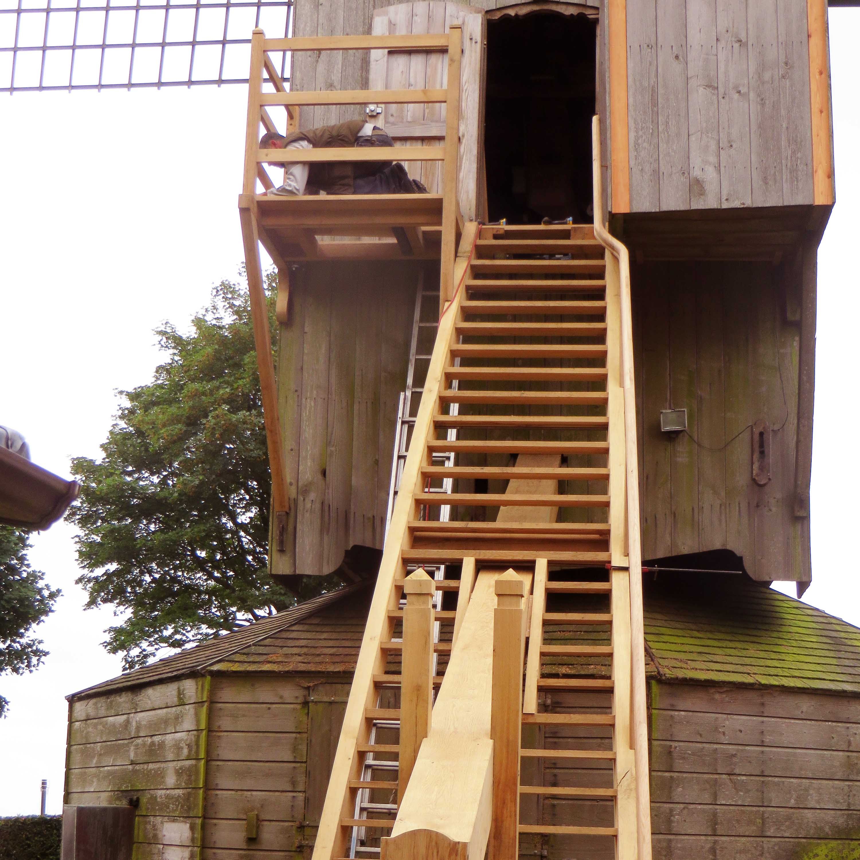Ouvrages Spéciaux Rénovation Charpente bois Moulin de Cassel - Charpentier des Flandres