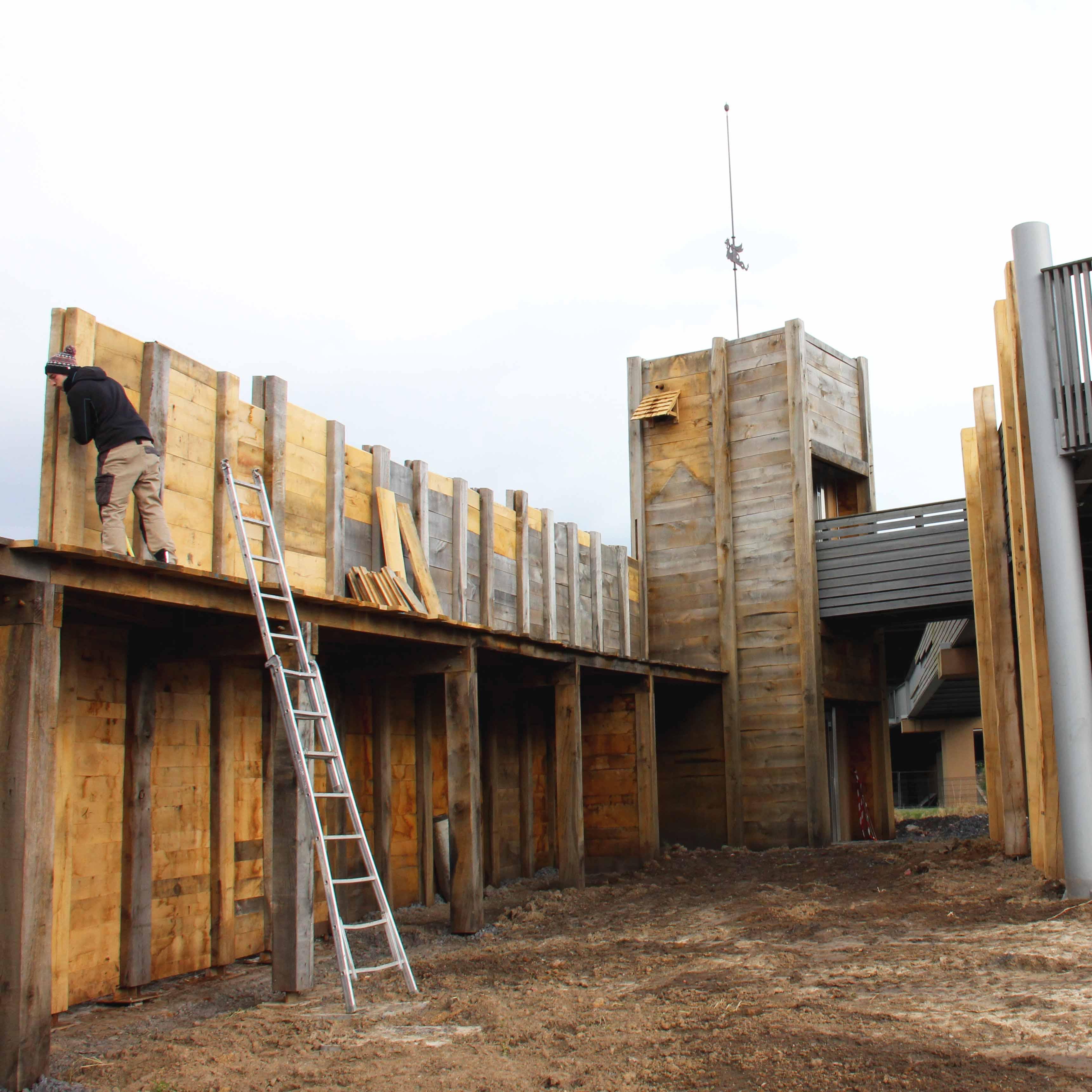 Ouvrages Spéciaux Rénovation Charpente bois Raches Douai musée Arkéos - Charpentier des Flandres