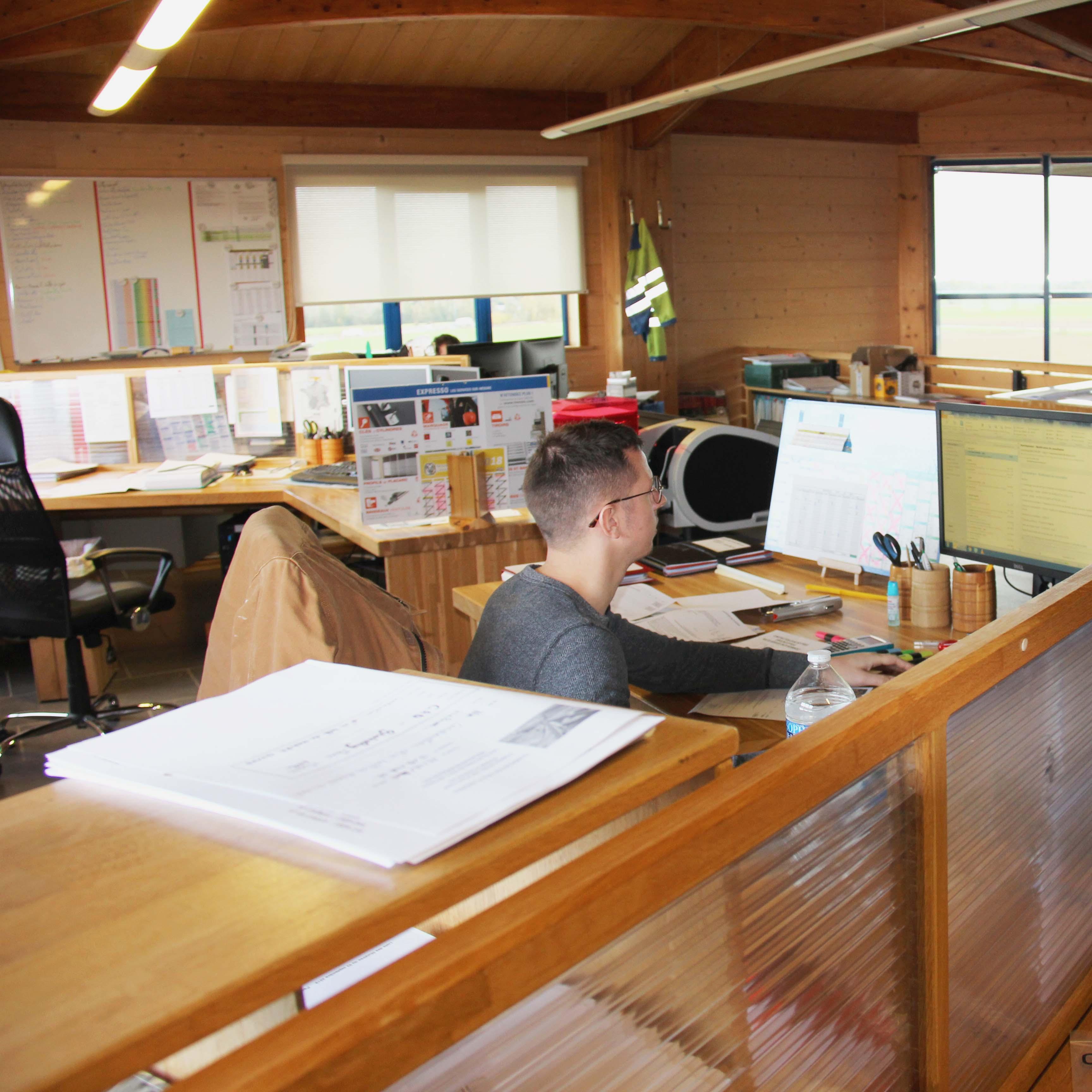Bureau d'étude - Charpentier des Flandres